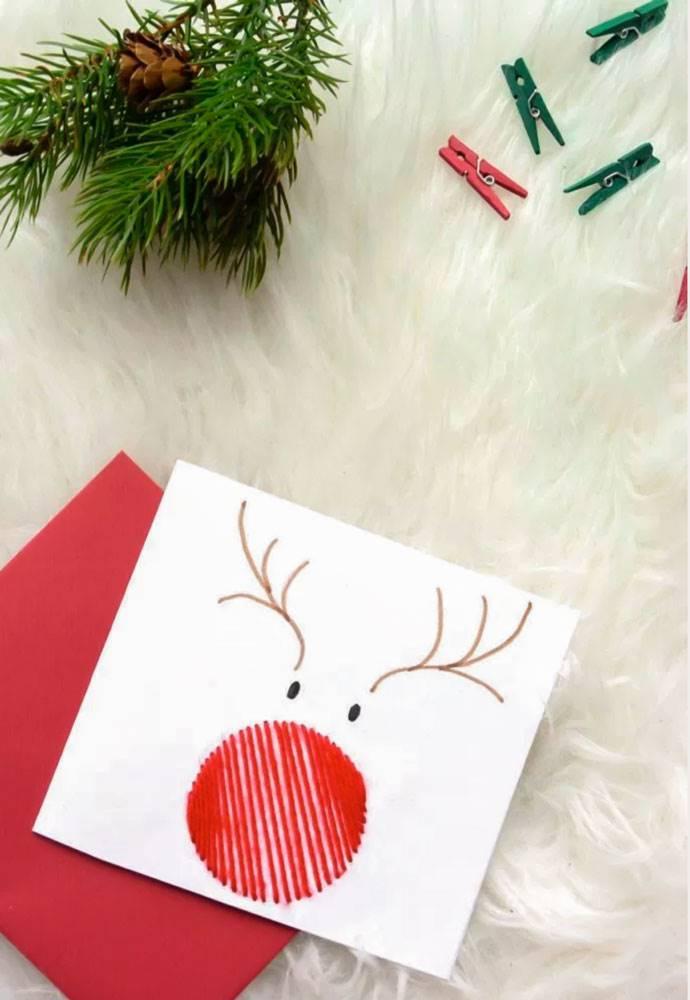 14 postales de navidad diy - Targetas de navidad originales ...