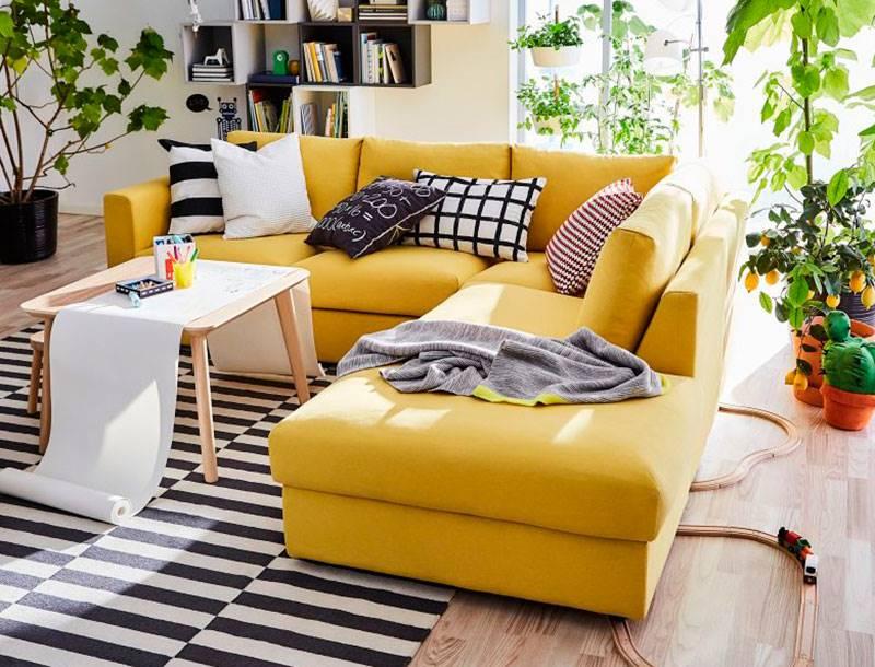 Sofas De Ikea Donde Vivir La Vida