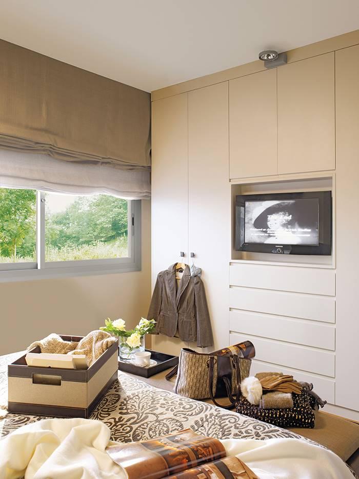 1172 fotos de armarios - Television dormitorio ...