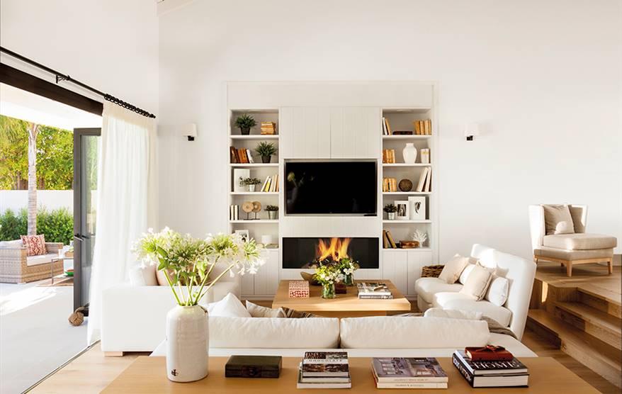 Muebles de tv para el sal n - Como decorar mueble salon ...