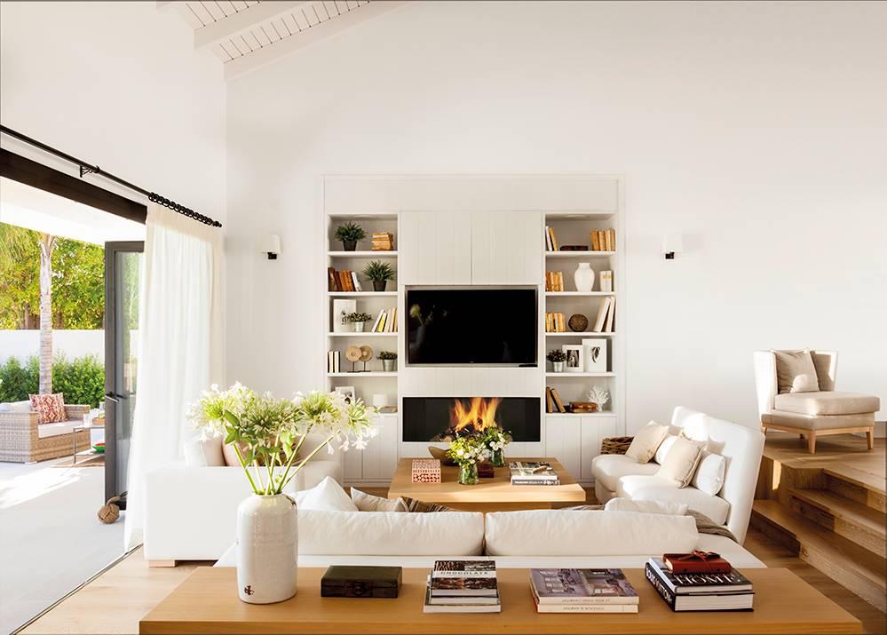 Muebles de tv para el sal n for Muebles para salones pequenos