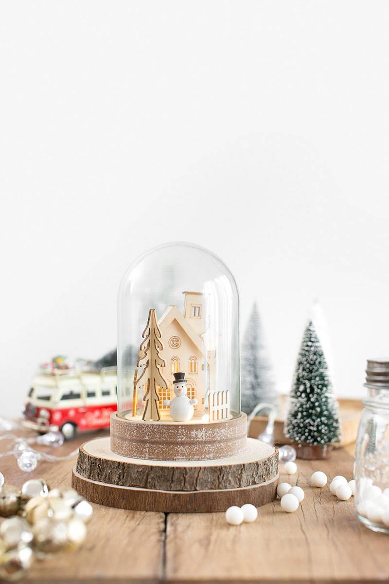 Shopping-de-Navidad-R-de-Room-muñeco-de-nieve-con-luz 19,95€. Let it snow, let it snow, let it snow
