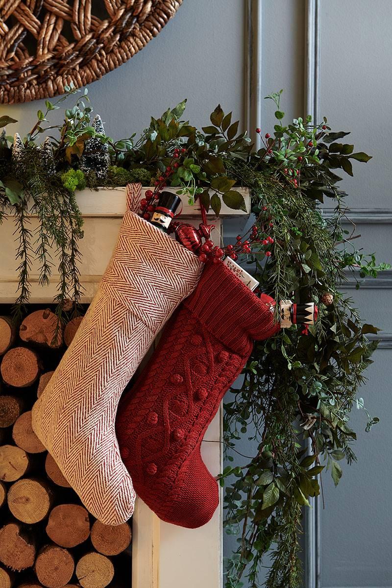 Como Decorar Calcetines Para Navidad.Adornos De Navidad De Revista