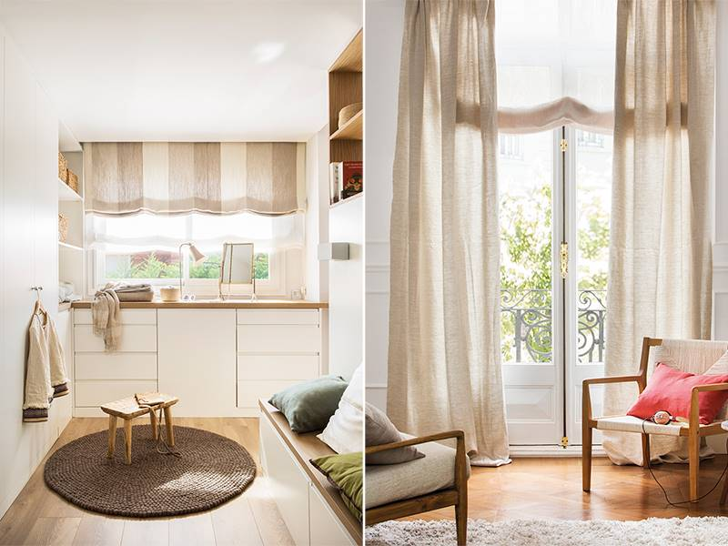 montaje muebles cortinas vs estores. ¿Cortinas o estores?