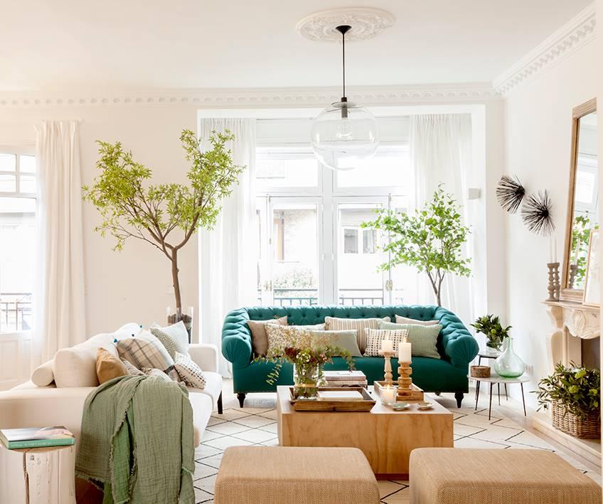 Tendencias de decoración 2019 on Tendencias Cortinas Salon 2020  id=95124