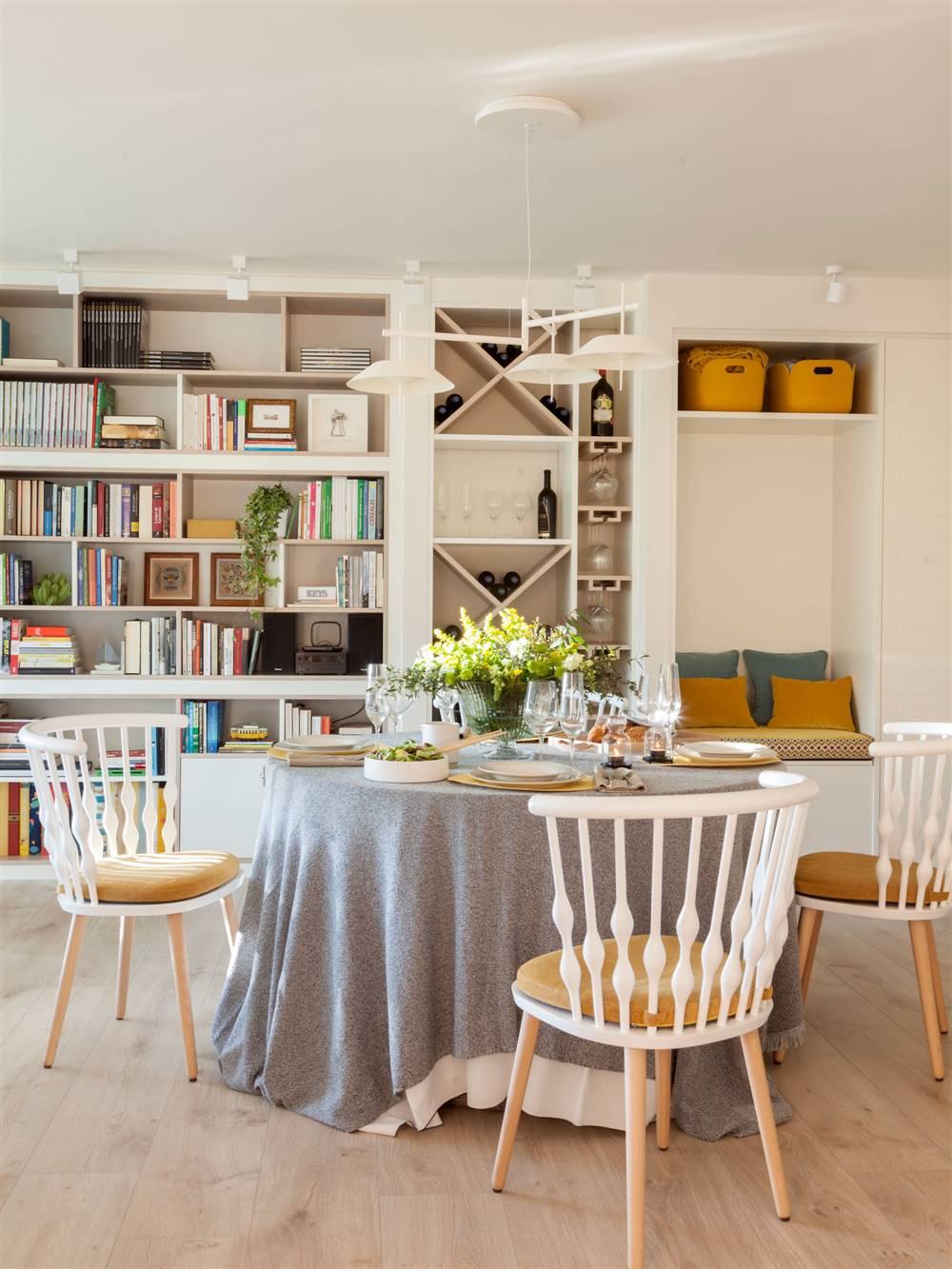 Muebles a medida: estas librerías solucionan todos tus problemas