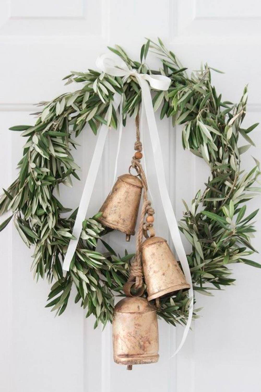 Corona-pinterest-campanas. Jingle Bells