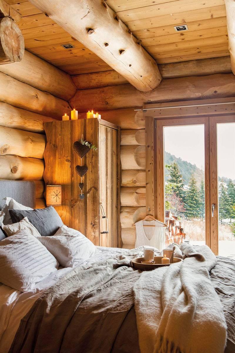 dormitorio-rustico-de-madera-448956 d154baaf. Aires de montaña