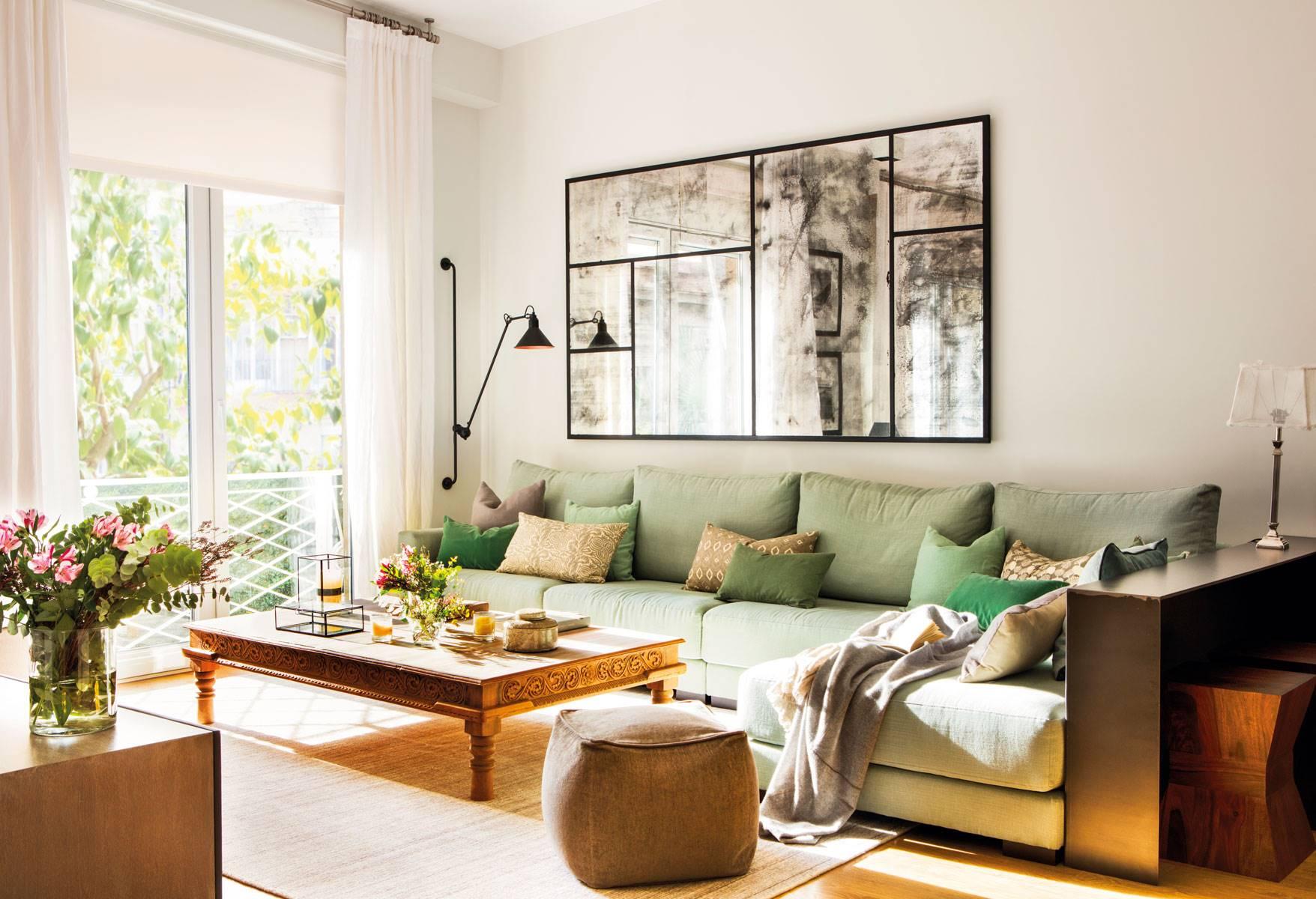 Espejos 50 dise os de todos los estilos para tu casa for Espejos grandes para salon