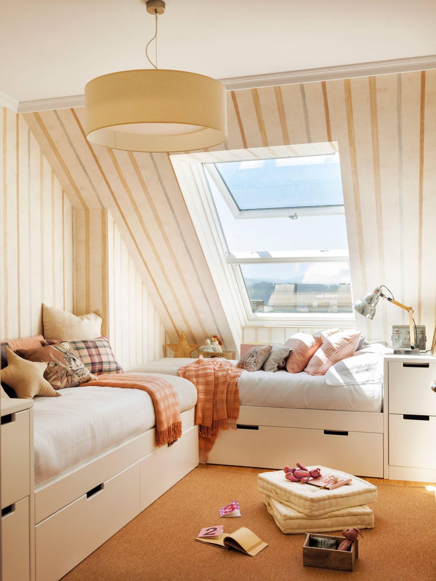 Muebles a medida: dormitorios juveniles donde todo cabe