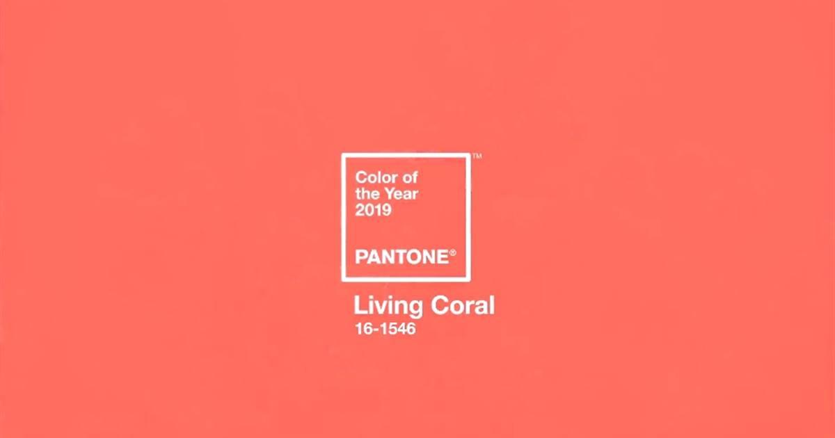 El color Pantone 2019