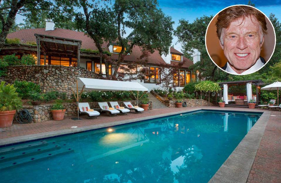 robert reford. Se vende: La finca californiana de Robert Redford