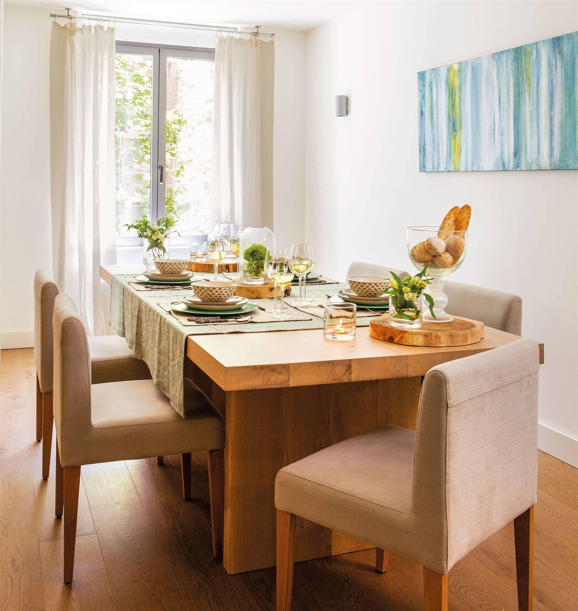 Las mejores mesas de comedor de el mueble for Comedor completo con mesa de carree