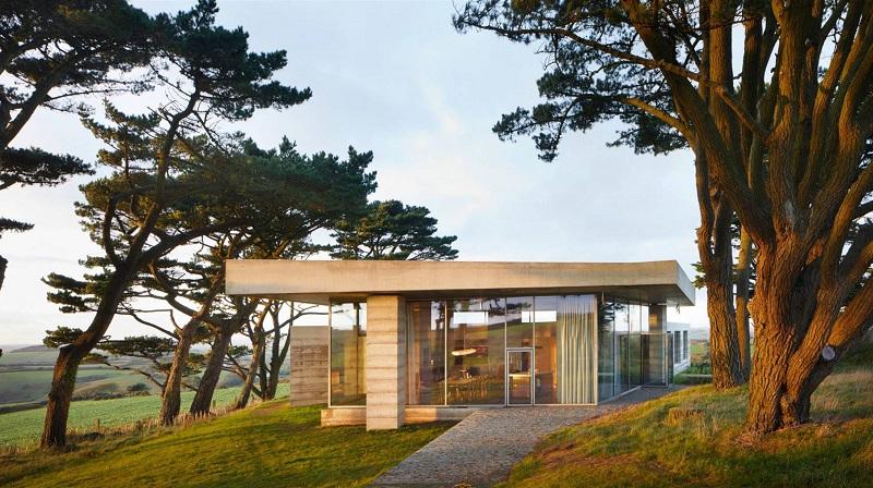El refugio para los amantes de la arquitectura contemporánea