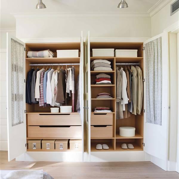 Puertas de armario tipolog as estilos y c mo escogerlas - Como revestir un armario ...