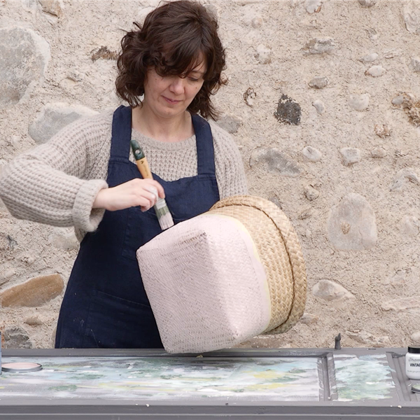 Captura de pantalla Video Cesto Chalk Paint