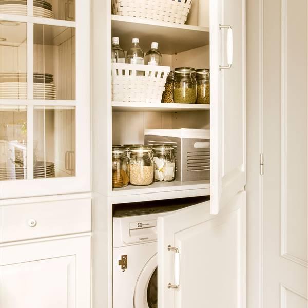 Dónde poner la lavadora en casa