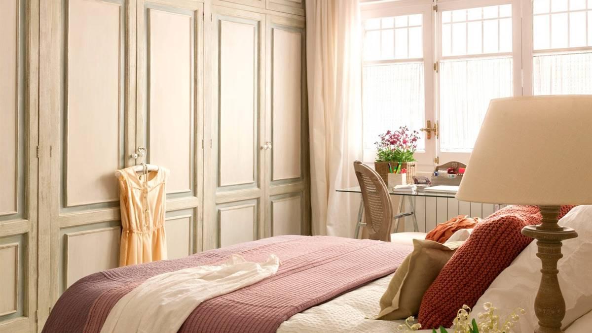 Cómo distribuir el dormitorio para ganar espacio y dormir mejor