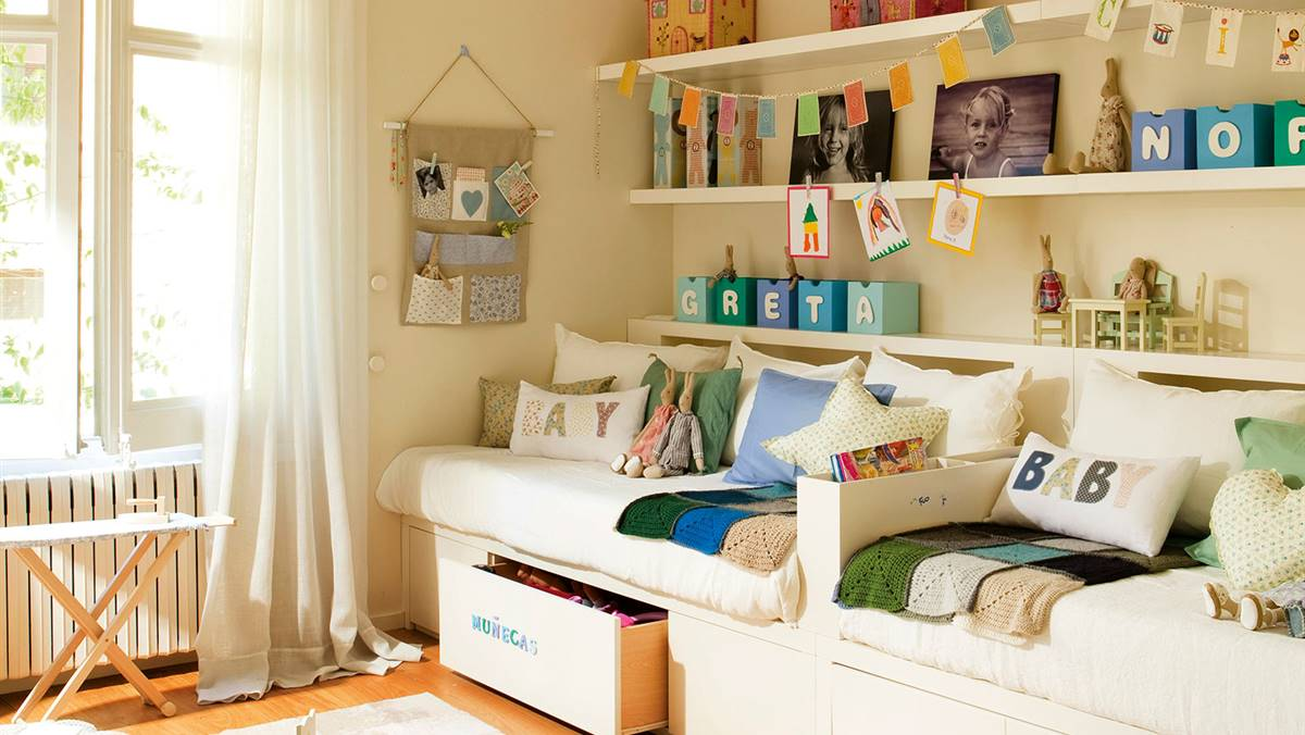 Cómo decorar dormitorios infantiles sin cometer los típicos errores