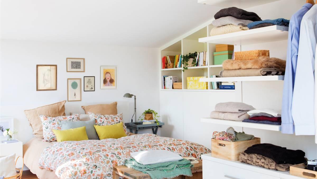 Cómo guardar y ordenar en el dormitorio en solo 10 pasos