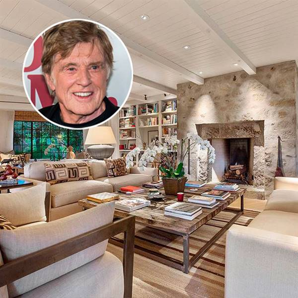 La casa de Robert Redford en California