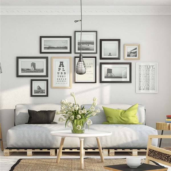 Decorar con cuadros y fotos: ideas originales vistas en Pinterest