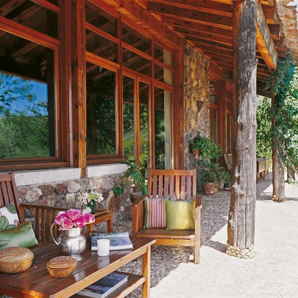 Porches y terrazas naturalmente bonitos - Adornos de pared de forja ...