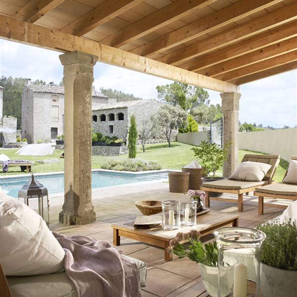 10 porches maravillosos con encanto for Casa de decoracion interna