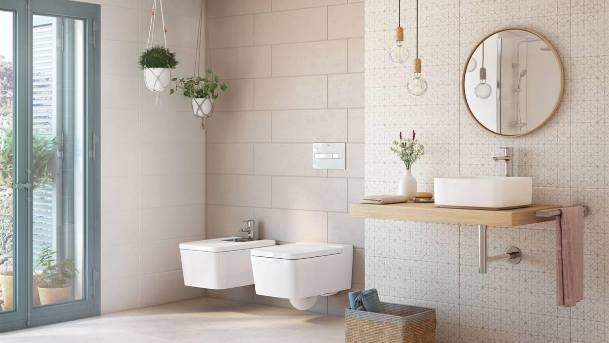 Cómo elegir revestimientos para paredes y suelos del baño