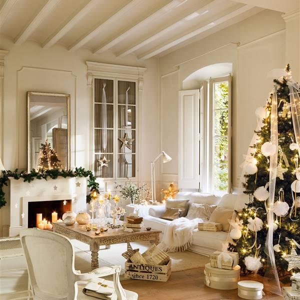 Ideas Decorar Tu Casa: Navidad: Ideas Para Decorar De Verde Natural Tu Recibidor