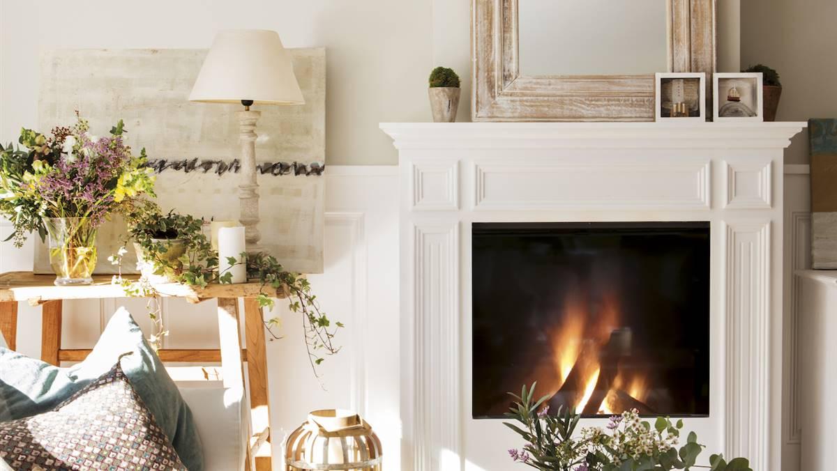 Chimeneas soluciones decorativas para tener una en casa - Chimeneas para salon ...