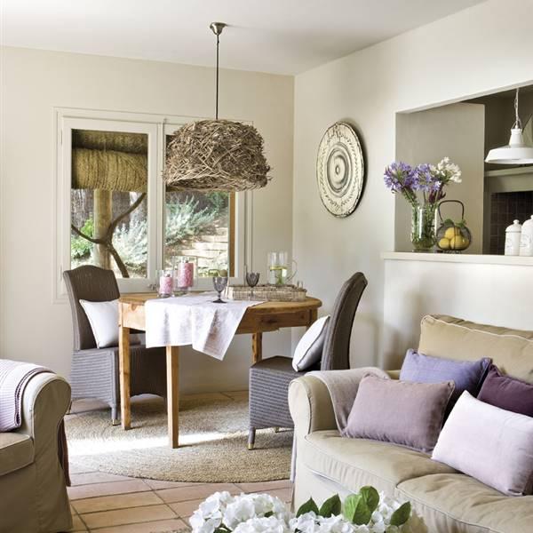 Pintura cambia tu casa con los efectos del color - Color pintar salon ...