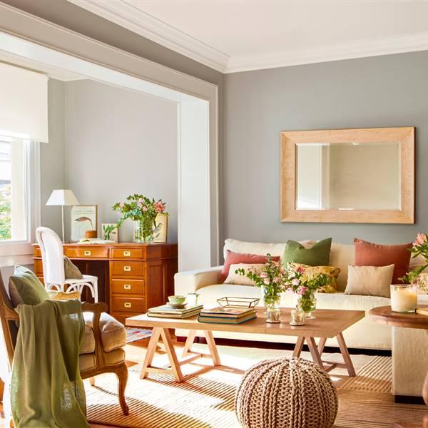 Cómo pintar el salón según sus muebles