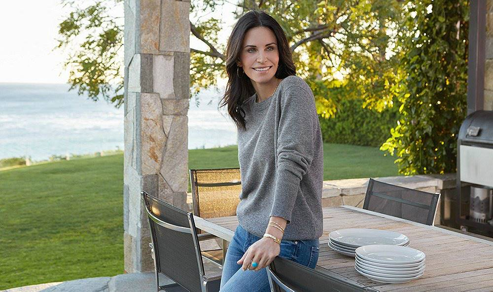 Friends Courtney Cox. La casa de Courteney Cox
