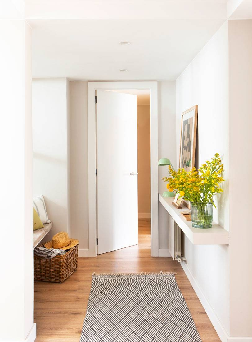 区域与地毯印刷和门光滑433976.几乎看不见的门