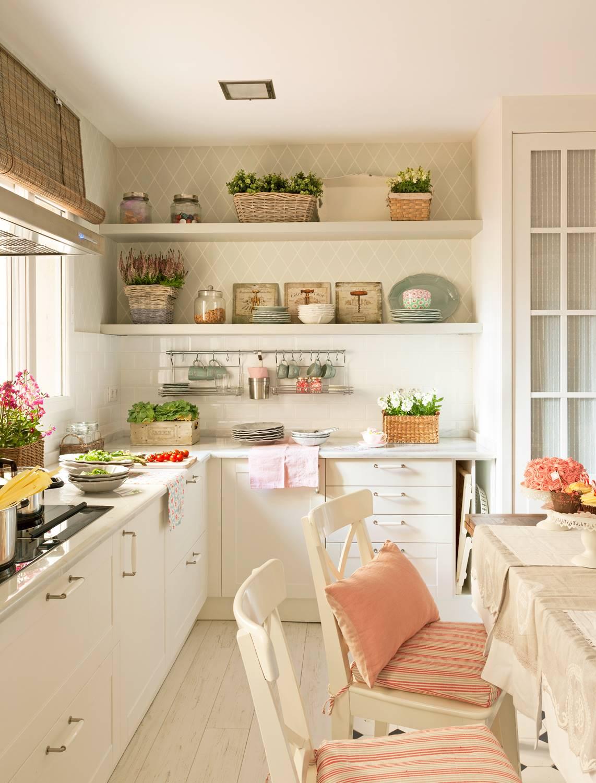 Paredes de la cocina, ¿con o sin azulejos?