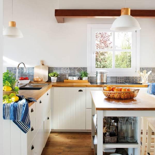 Cocinas: decoración de cocinas grandes y pequeñas - ElMueble