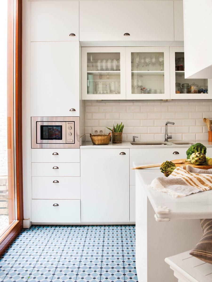 Paredes De La Cocina Con O Sin Azulejos