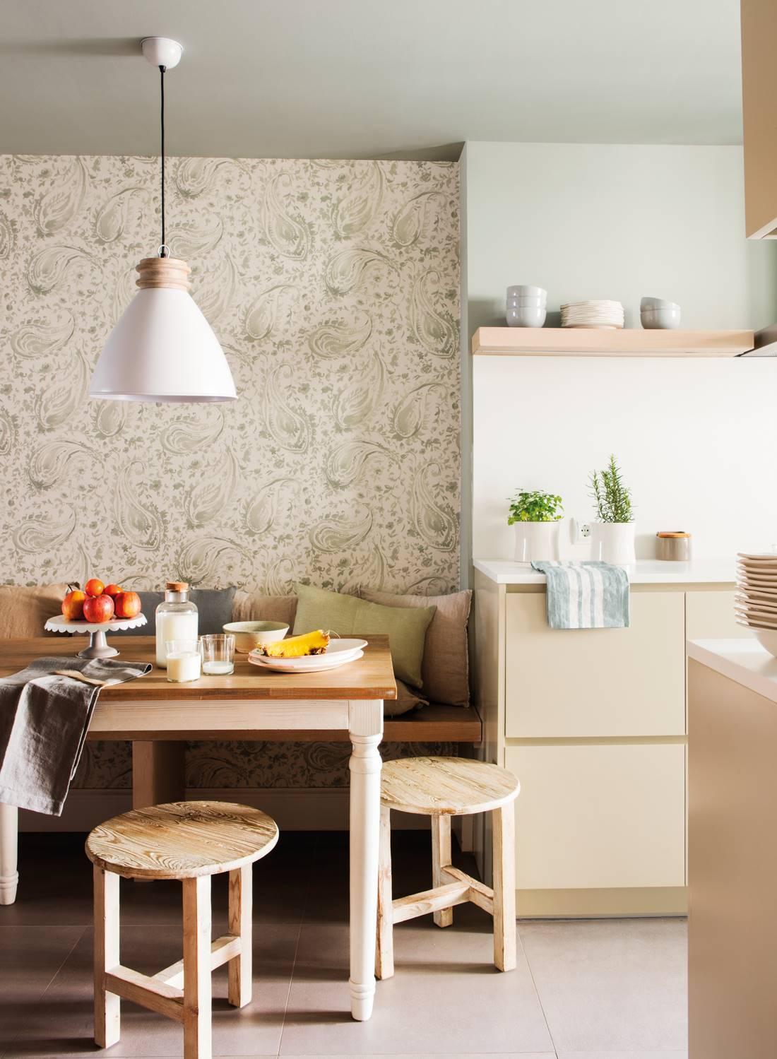 655 fotos de papel pintado - Papel pintado en cocina ...