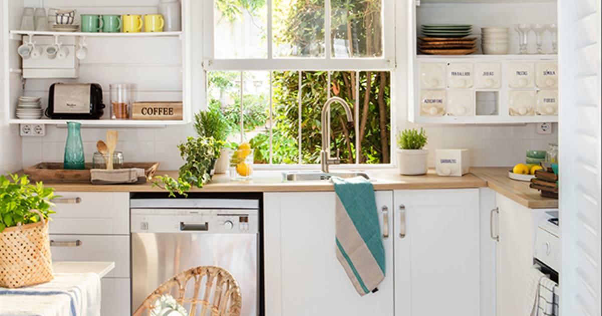 muebles de cocina abiertos y cerrados On muebles de cocina abiertos