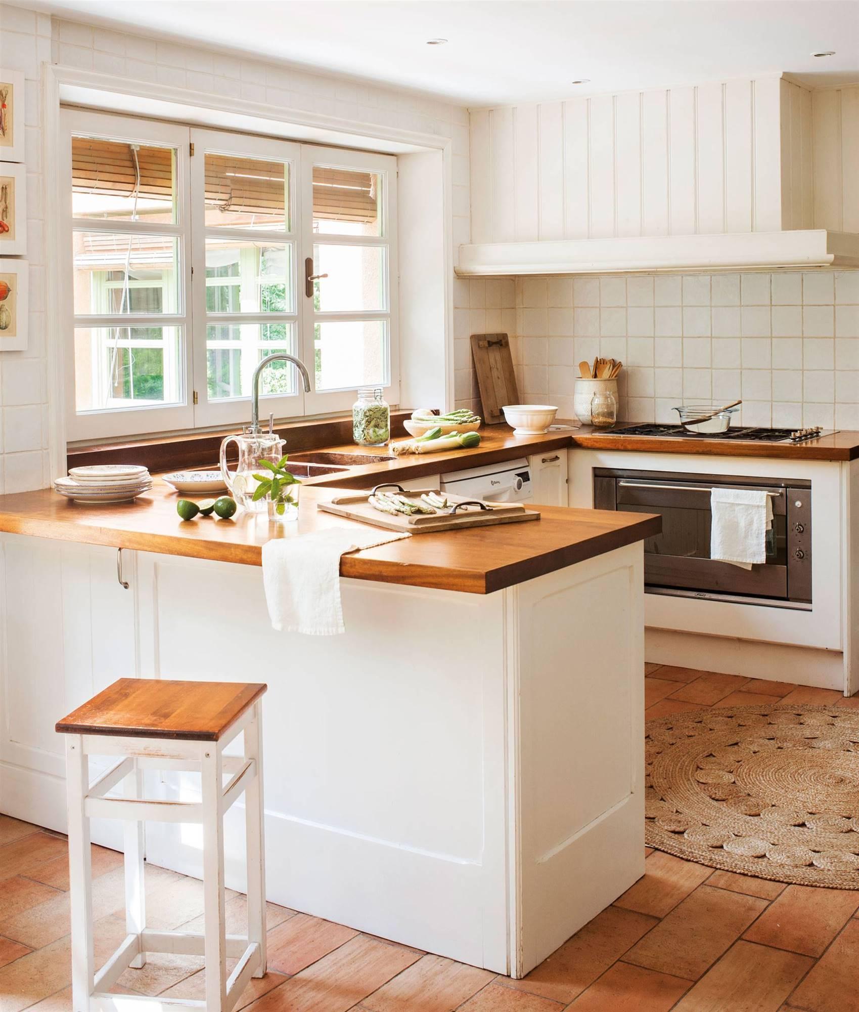 65 Cocinas Rústicas Bonitas Con Muebles Vintage Y Mucho Encanto
