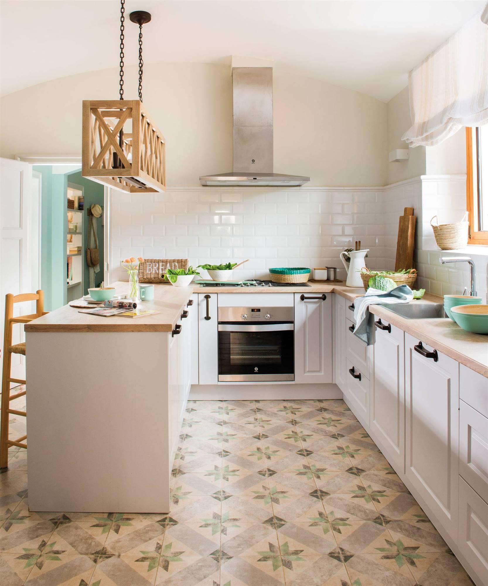 Connie Achurra Clase De Cocina: 50 Cocinas Rústicas Bonitas, Con Muebles Vintage Y Mucho