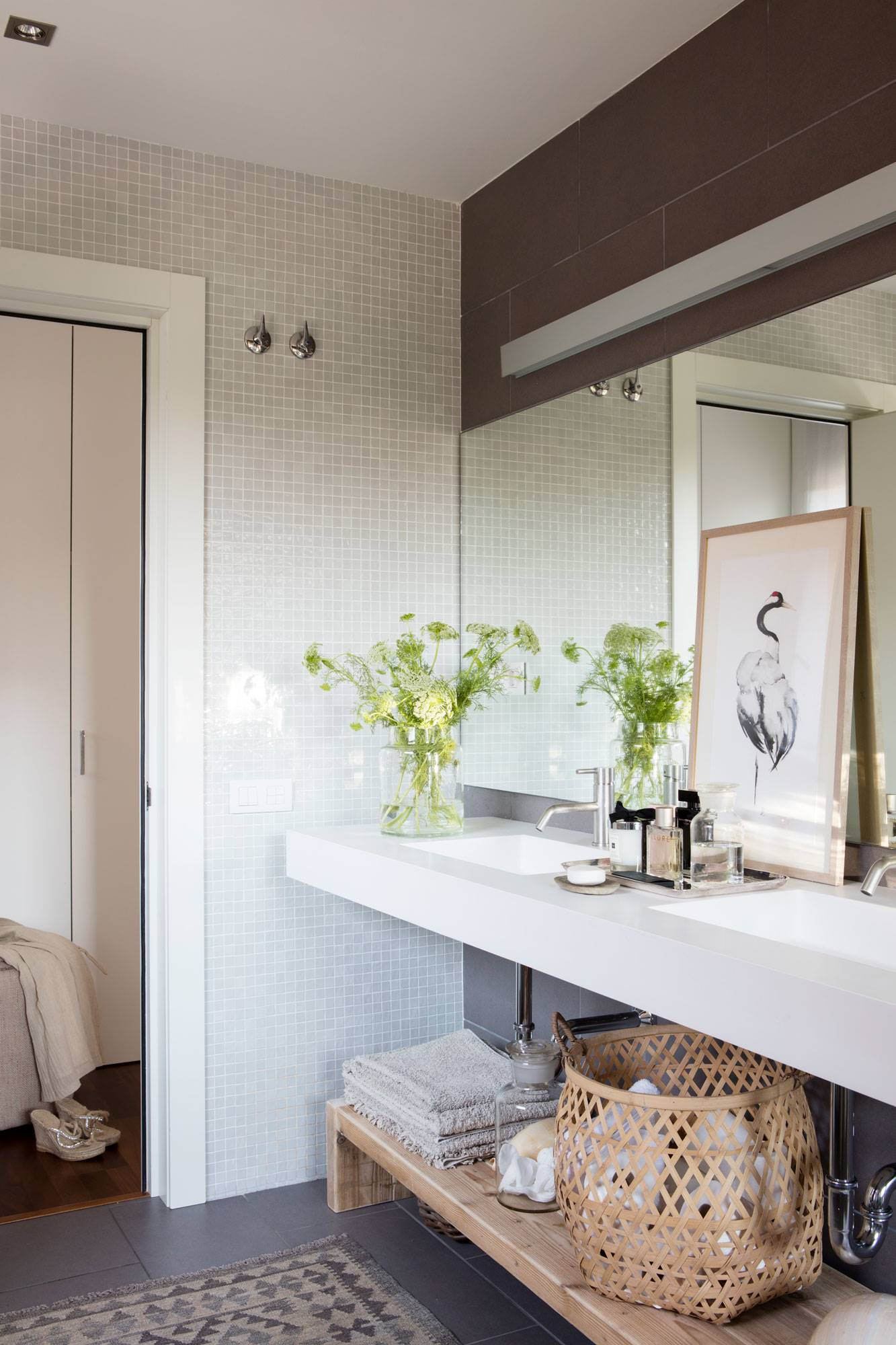 Mueble bano dos senos 150 cool muebles de lavabo leroy - Muebles los pepotes ...