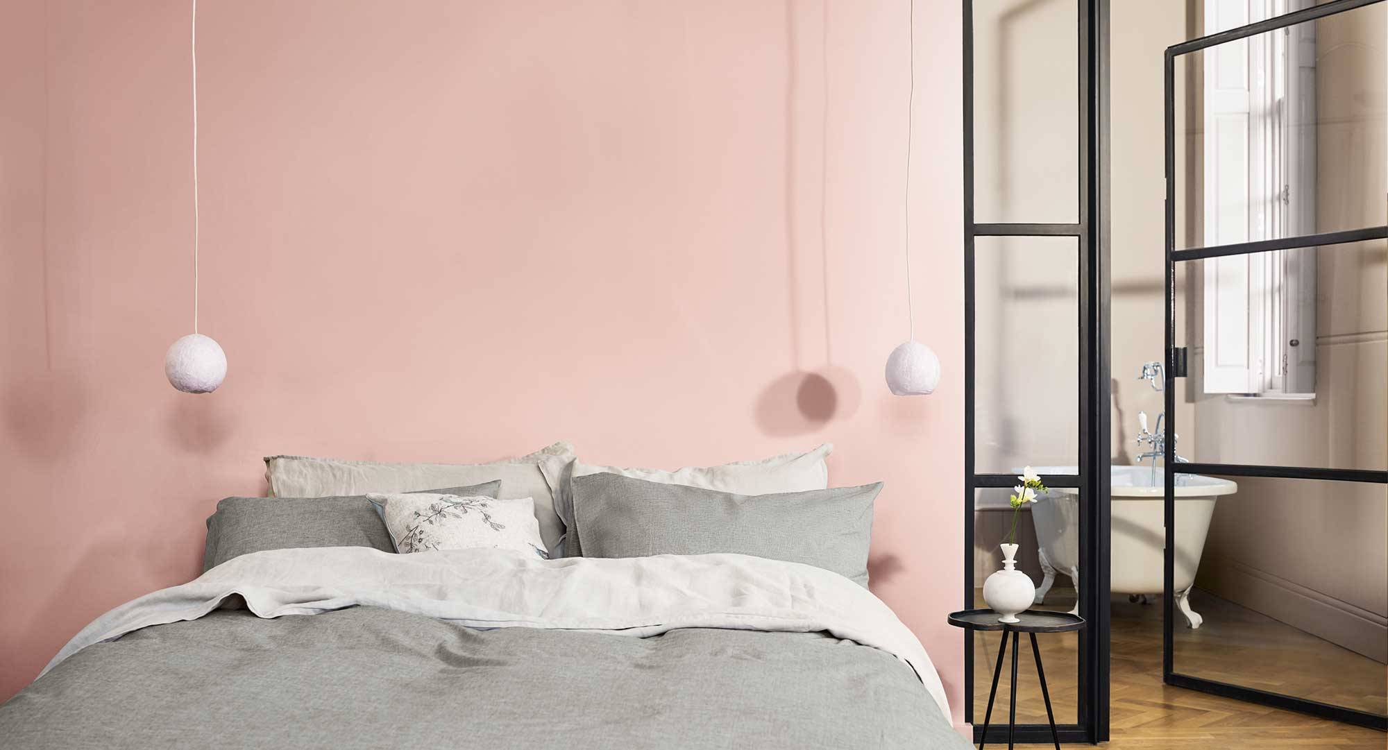 Dulux-Colour-Futures-Colour-of-the-Year-2019-A-place-to-dream-Bedroom-Inspiration-Global-12. Sueña 5, un rosa entre pastel y empolvado
