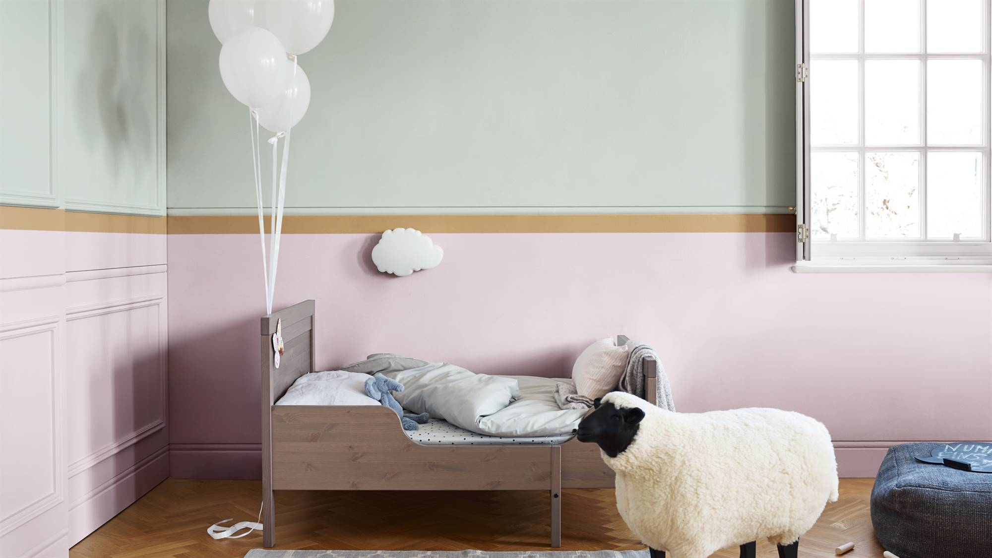 Dulux-Colour-Futures-Colour-of-the-Year-2019-A-place-to-dream-Kidsroom-Inspiration-Global-07 (Sueña 3). Sueña 3, un rosa suave y sosegado