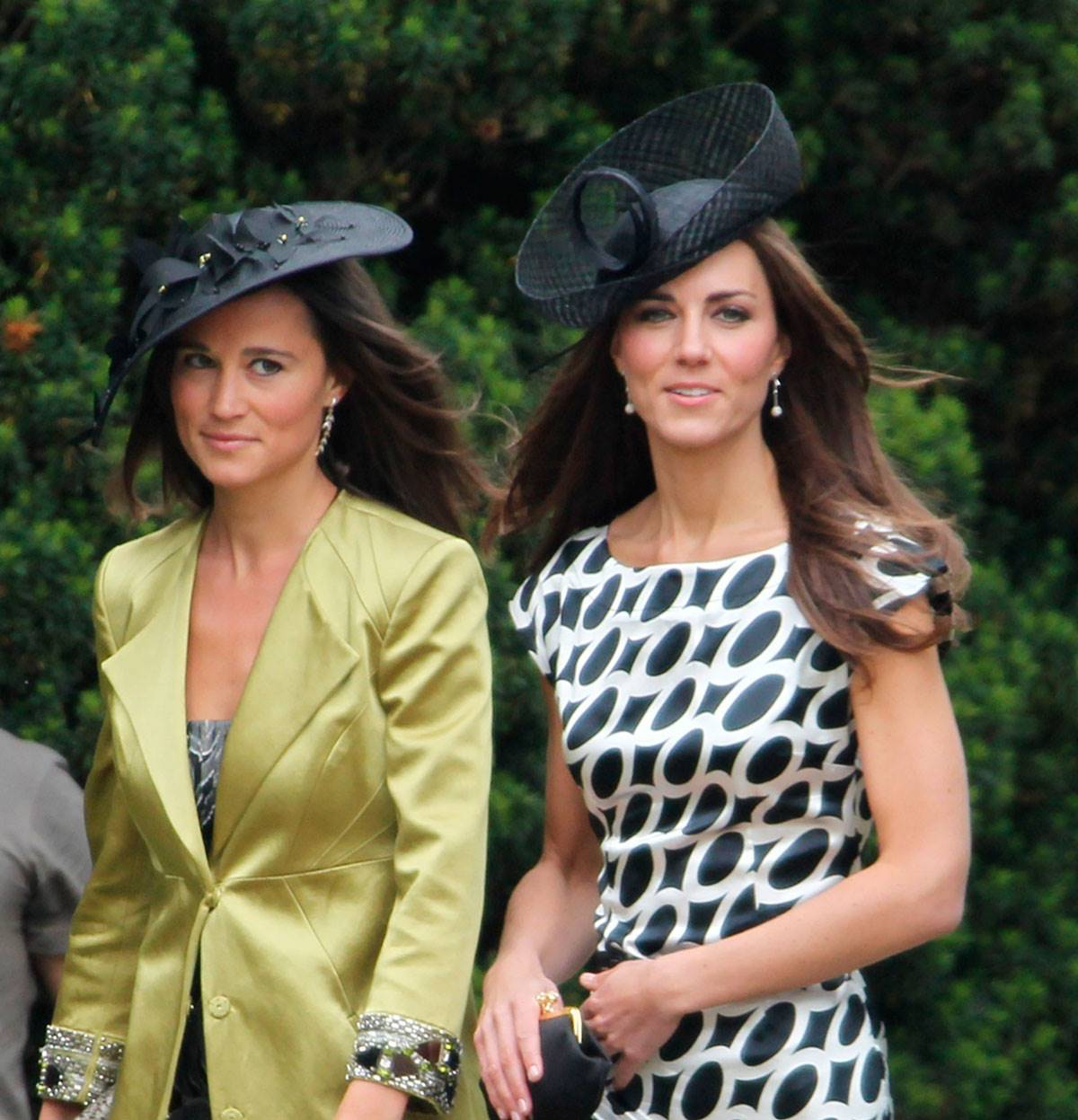KATE. Kate Middleton y su hermana Pippa