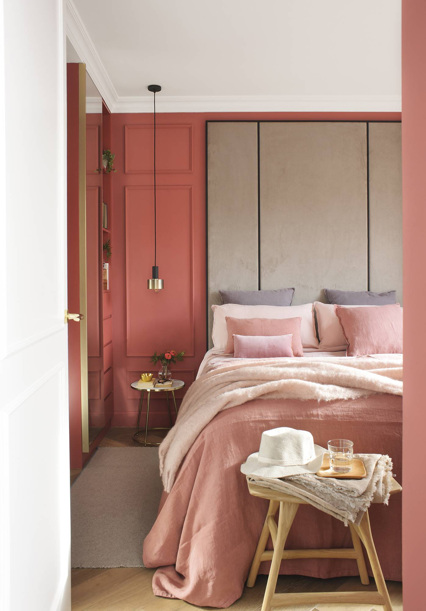 5 colores que combinan con el living coral - Colores de pintura para paredes de dormitorios ...