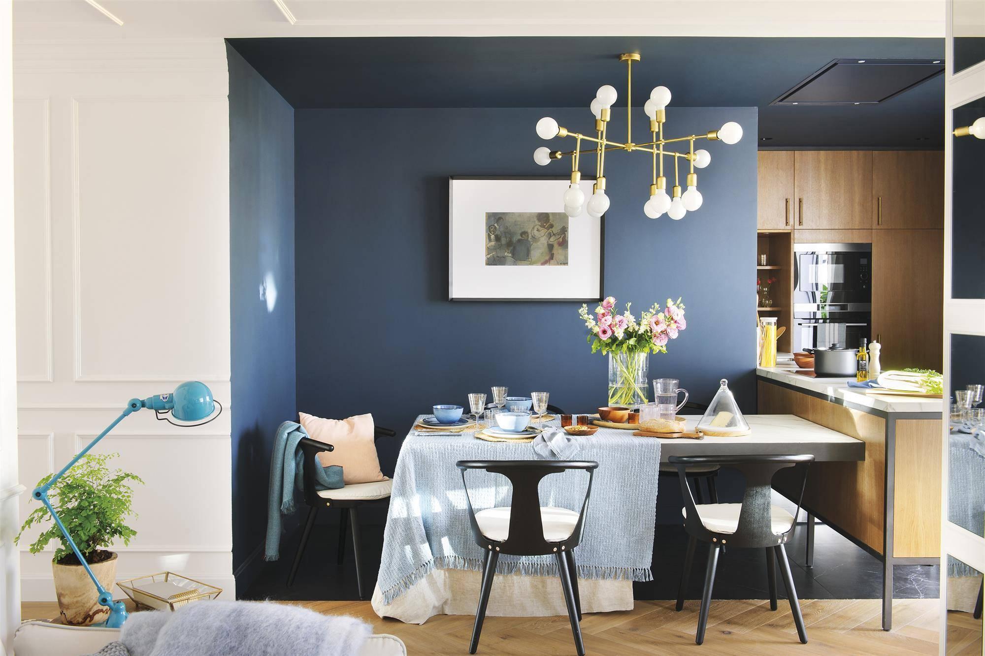 5 colores que combinan bien con azul for Cocina pintura pato azul