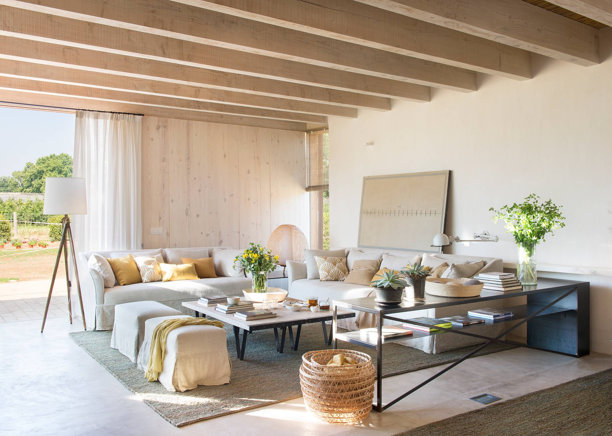 obras de arte geniales para sala de estar Decoracin De Salones Los 100 Mejores De El Mueble