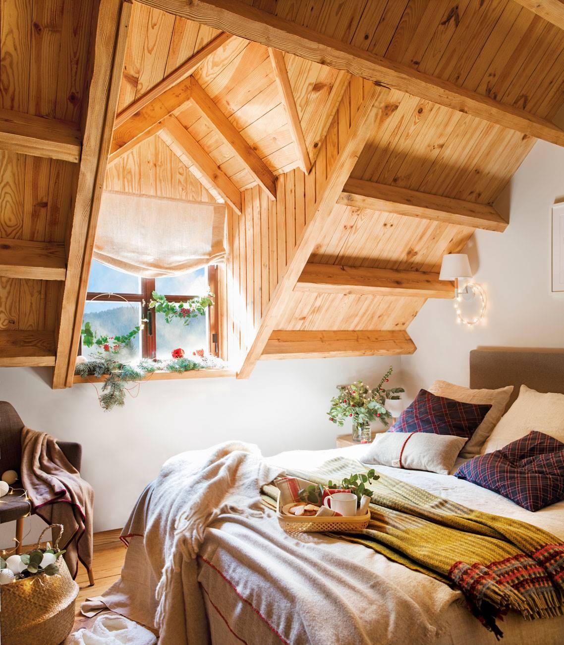 dormitorio-madera 495623. Baño de calidez